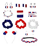SIX Accessoires de supporter Coupe d'Europe Football 2021 - Collection supporter France - 388-368