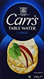 CARRS Crackers Table Water 200 g - Lot de 3