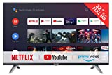 RCA RS32F3 Smart TV (32 Pouces Full-HD Android TV avec Google Assistant, Google Play Store, Prime Video, Netflix) HDMI, USB, WiFi, Bluetooth, Triple Tuner (DVB-C / -T2 / -S2)