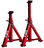 VIP 0842034511284 Chevalet pliable, rouge