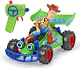 Dickie - Toy Story 4 - Buggy Radio Commandé Woody - Echelle 1/24ème - Fonction Turbo - 203154001