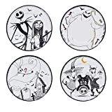 ABYstyle - NIGHTMARE BEFORE XMAS - Set de 4 Assiettes - Jack & Cie