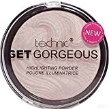 TECHNIC GET GORGEOUS HIGHLIGHTER Poudre Illuminatrice, Rose Clair