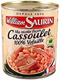 William Saurin - Cassoulet 100% volaille William Saurin 840g