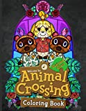 Animal Crossing Stained Glass Coloring Book: Animal Crossing Stained Glass Creativity & Relaxation Adult Coloring Books (Get Well Gifts)