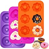 Moulle silicone patisserie Moule silicone Beignets Cake factory Pour Les gâteaux,Biscuits,Bagels,Muffins,accessoire cookeo.