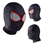 ADZPA Masque Spider-Man Enfants Masque Cosplay Cosplay, Masque Spiderman Unisexe Halloween Carnaval Style Style Masque personnalisé (Color : E, Size : One size)