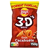 Lay's 3D's Cacahuète Format Familial 150 g
