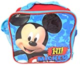 TDL Disney Mickey Mouse Sac Isotherme Isotherme - Licence Officielle - 20 x 18 x 9 cm - Fermeture Zippée - Sangle de Transport - Insulated Lunch Bag