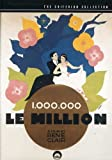 Le Million - Criterion Collection [Import USA Zone 1]