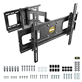 RICOO R06 Support Murale TV Orientable Inclinable Universel 40-75' (102-191cm) Fixation Mural Télévision LED/LCD/Incurvée VESA 300x200-600x400