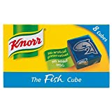Knorr Fish Stock Cubes 8 x 10g, 2 Pack