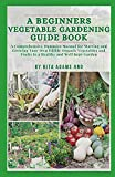 A Beginners Vegetable Gardening Guide Book: A comprehensive dummies manual for starting and growing your own edible organic vegetables and fruits in a healthy and well-kept Garden