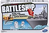 Hasbro A3846 Battleship Electronic with Carry Case - Naval Combat Game - 1 to 2 Players - Strategy Board Games - Ages 8+,Black, Grey, Red, Blue
