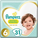 Pampers Premium Protection Lot de 31 couches Taille 6