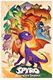 Close Up Poster Spyro - Reignited Trilogy (Animated Style) (61cm x 91,5cm)