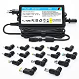 NEUE DAWN 65W Chargeur Universel pour HP Pavilion Stream Envy Spectre Acer Chromebook Aspire ASUS Vivobook Zenbook Lenovo Thinkpad Samsung GT Toshiba Satellite Dell Inspiron Sony Vaio (15 Embouts)