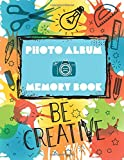 Photo Album & Memory Book · Be Creative: ca A4 / 8,5 x 11 inch · 108 pages · Photo frame size: ca 4 x 6 inch / 10 x 14,8 cm · White paper · Dot grid ... · Place for: Name, Date, Title, Author, Notes