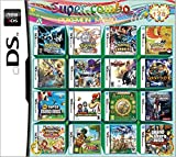 208 Jeux en 1 NDS Game Pack Card Super Combo Multi Cartouches pour DS NDS NDSL NDSi 3DS 2DS XL